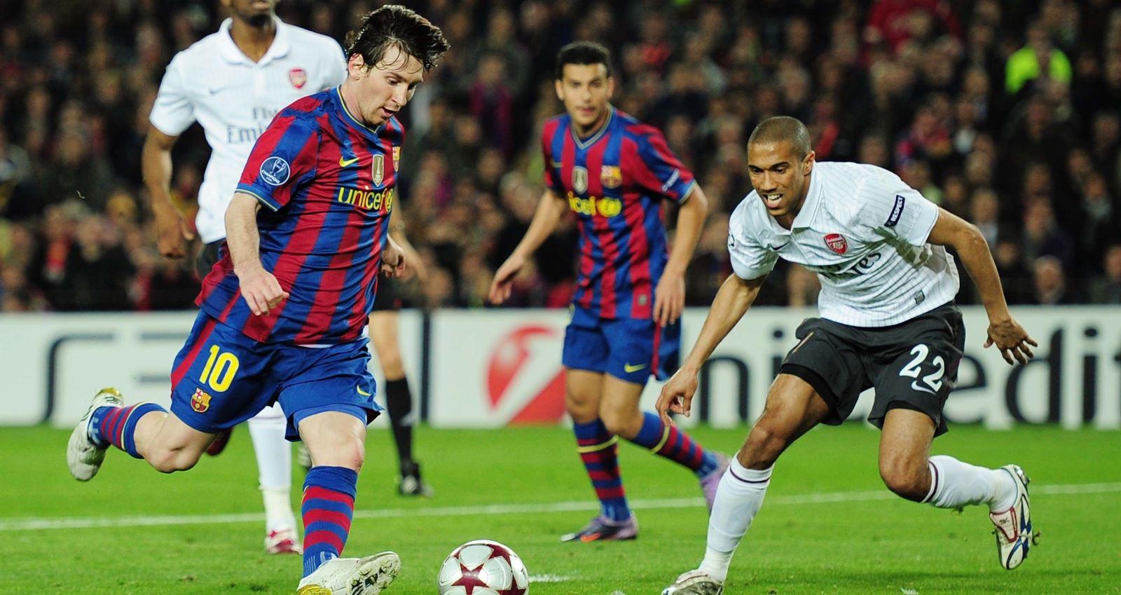 bóng đá, bong da, messi, lionel messi, arsenal, pháo thủ, barcelona, barca, poker, 4 bàn, champions league, cúp c1