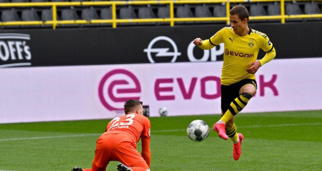 bóng đá, bong da hom nay, bong da, Erling Haaland, Dortmund, Schalke, Bundesliga, Haaland