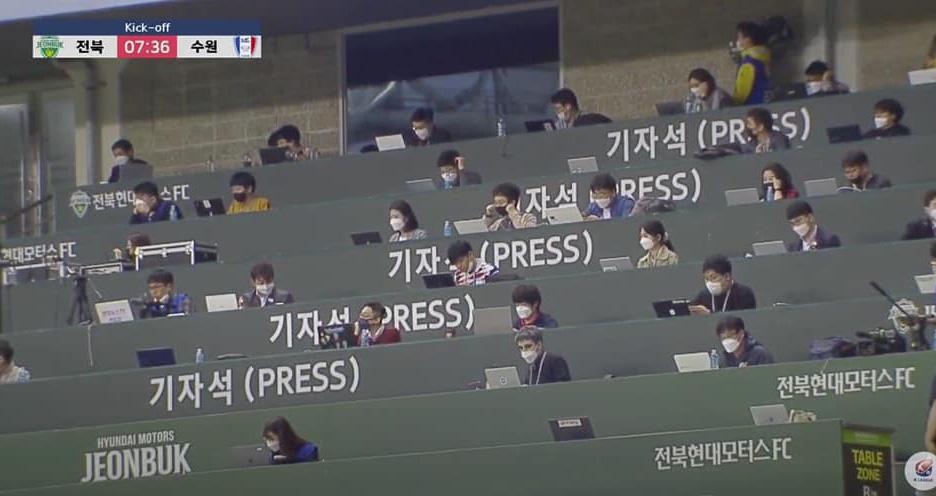 bóng đá, bong da, bong da hom nay, k league, Jeonbuk Motors vs Suwon Bluewings, Jeonbuk Motors đấu với Suwon Bluewings, hàn quốc, covid-19