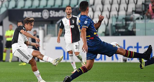bóng đá Ý, bong da Y, Serie A, kết quả bóng đá, ket qua bong da, video bóng đá, bảng xếp hạng bóng đá Ý, BXH Serie A, juventus, lecce, juve, ronaldo, dybala, higuain