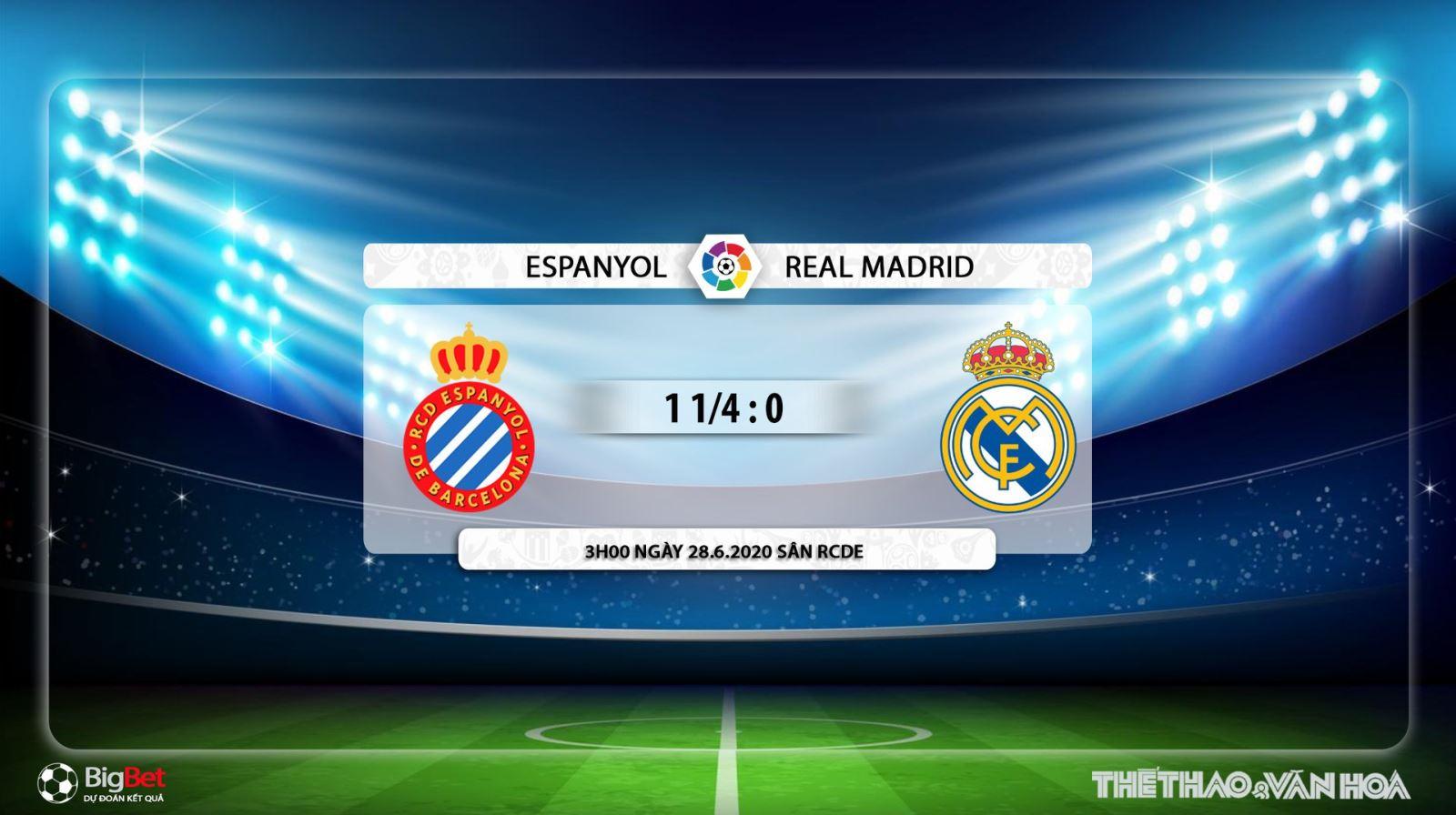 Espanyol vs Real Madrid, Real Madrid, Espanyol, trực tiếp bóng đá, soi kèo, kèo bóng đá, lịch thi đấu bóng đá, La Liga
