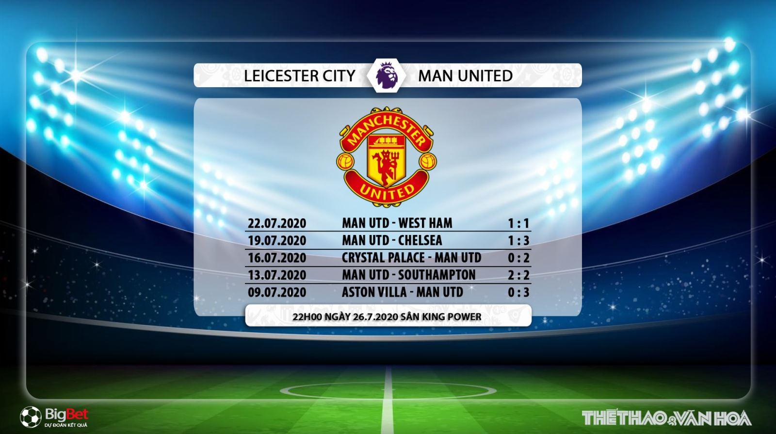 Leicester vs MU, Leicester đấu với MU, trực tiếp bóng đá, trực tiếp Leicester vs MU, soi kèo Leicester vs MU, soi kèo, kèo bóng đá, soi kèo bóng đá