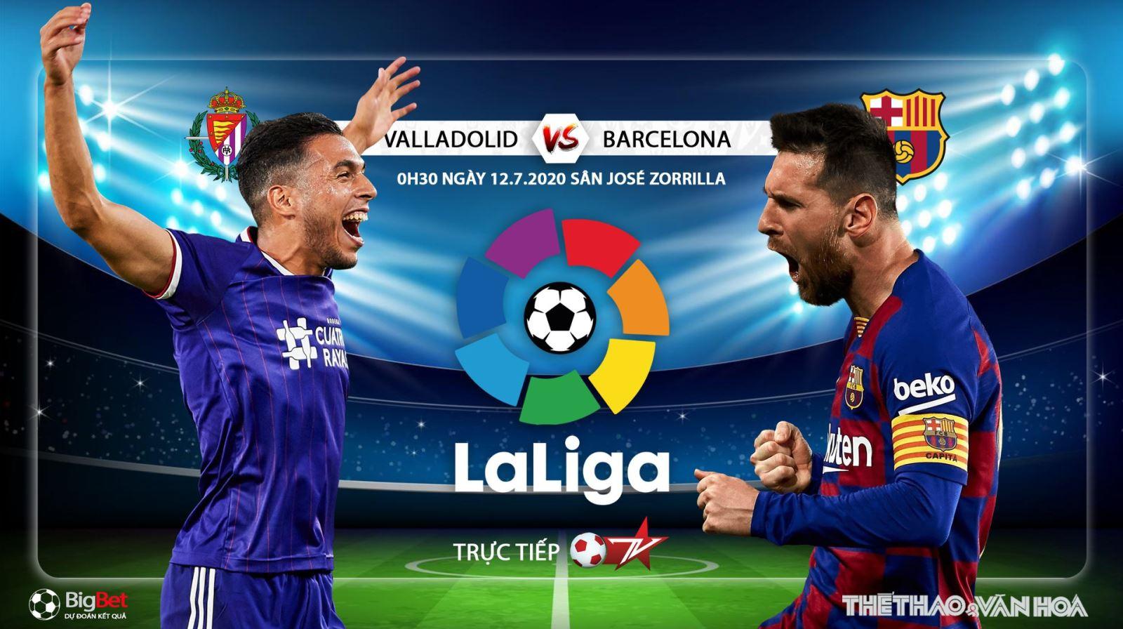 Soi kèo bóng đá Valladolid vs Barcelona. Trực tiếp bóng đá vòng 36 La Liga. BĐTV