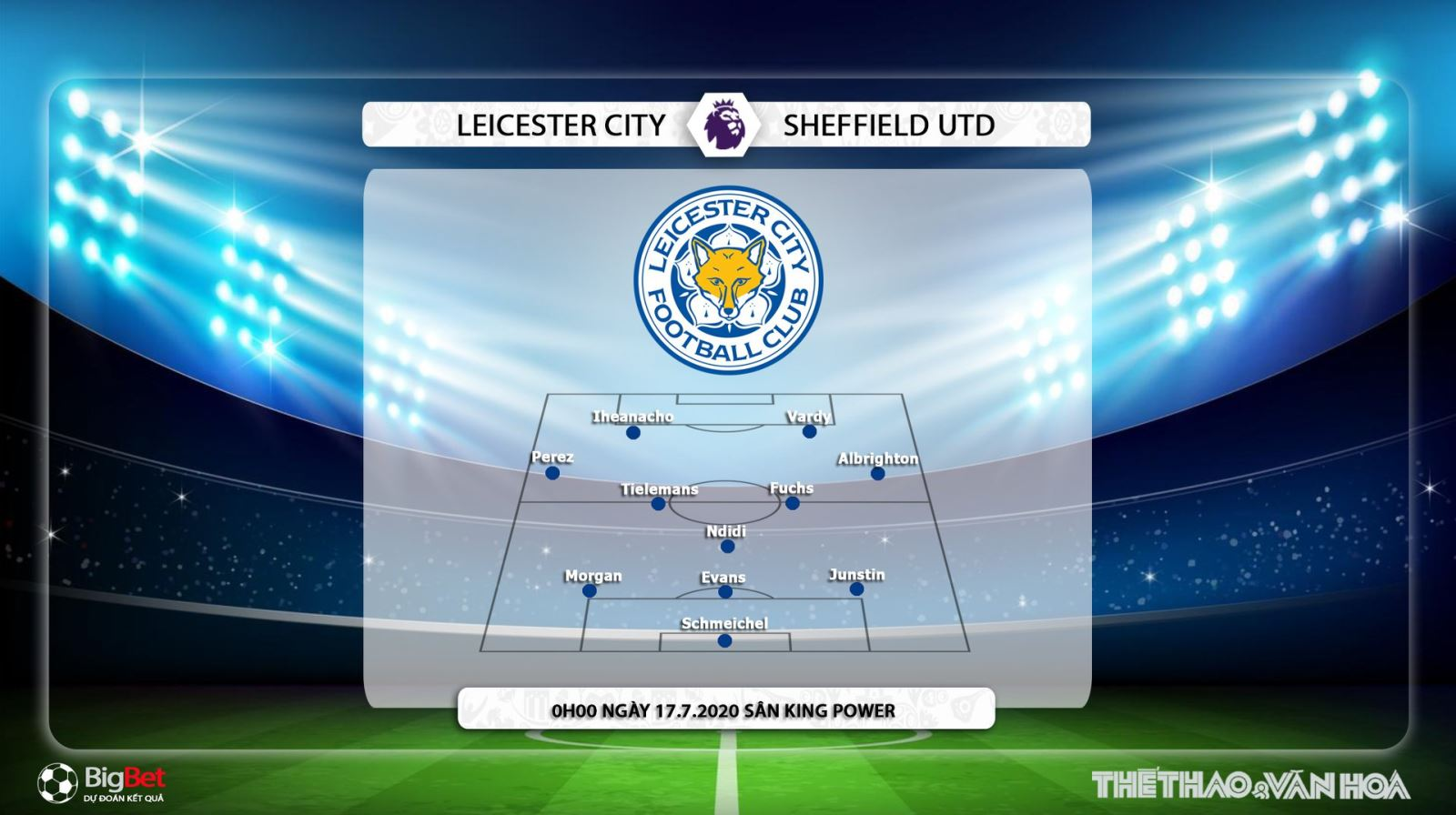 Leicester vs Sheffield Utd, Leicester, Sheffield, soi kèo Leicester vs Sheffield Utd, trực tiếp Leicester vs Sheffield Utd, nhận định, dự đoán