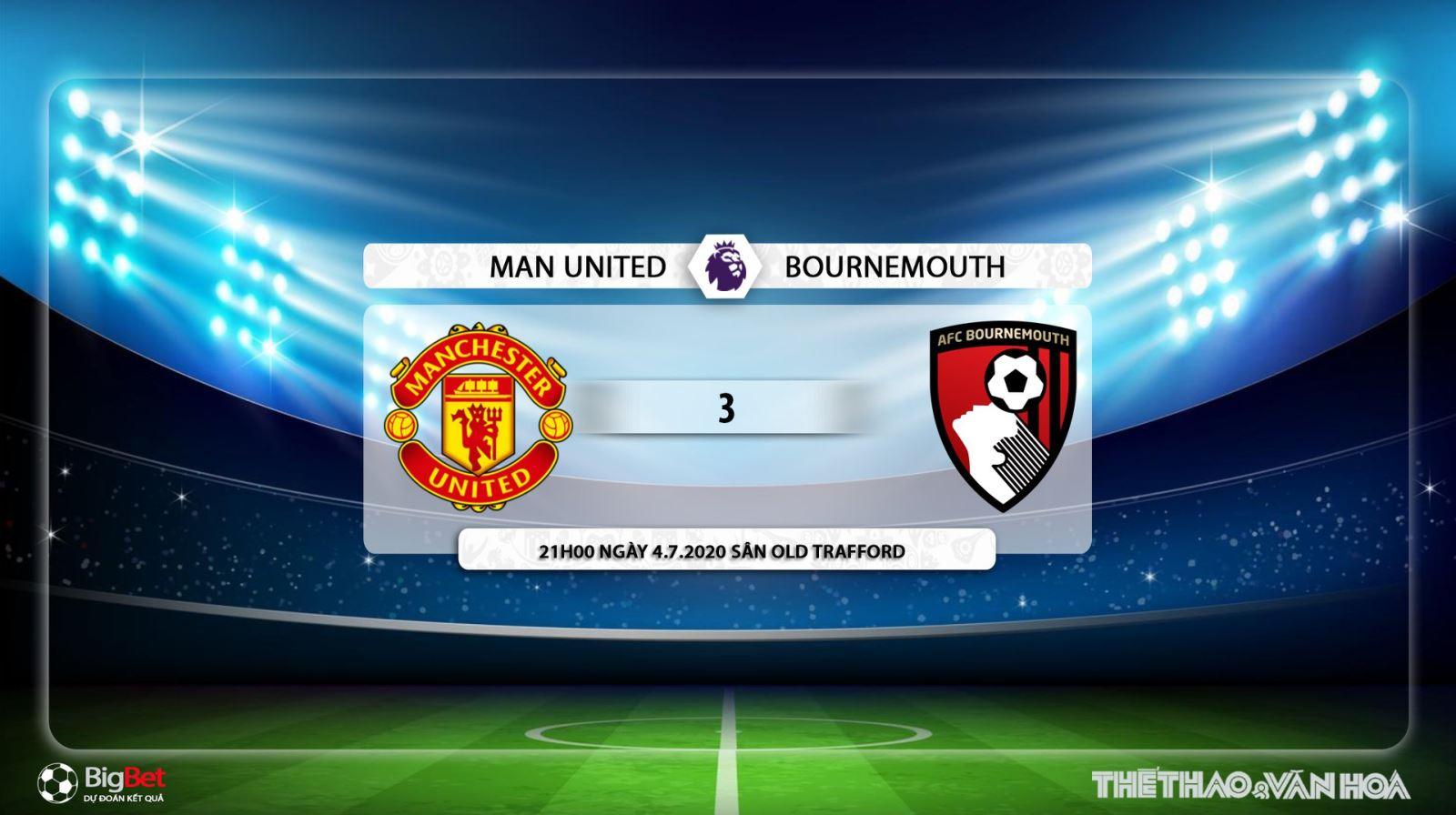 MU vs Bournemouth, manchester united, Bournemouth, trực tiếp bóng đá MU vs Bournemouth, soi kèo, kèo bóng đá, bóng đá hôm nay