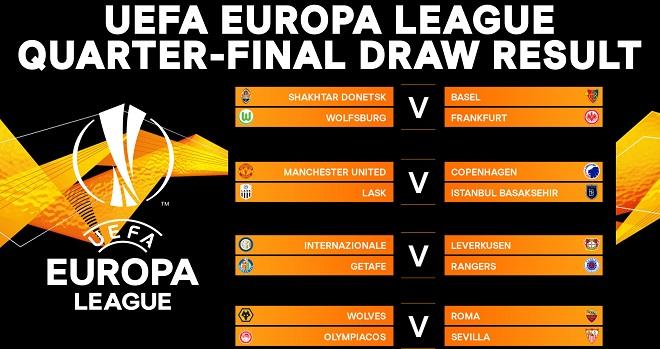 Kết quả bốc thăm Tứ kết Cúp C2, tứ kết cúp Europa League, MU gặp đội nào ở C1, MU, tin tức bóng đá MU, MU gặp Copenhagen, lịch thi đấu bóng đá hôm nay, lịch thi đấu C2