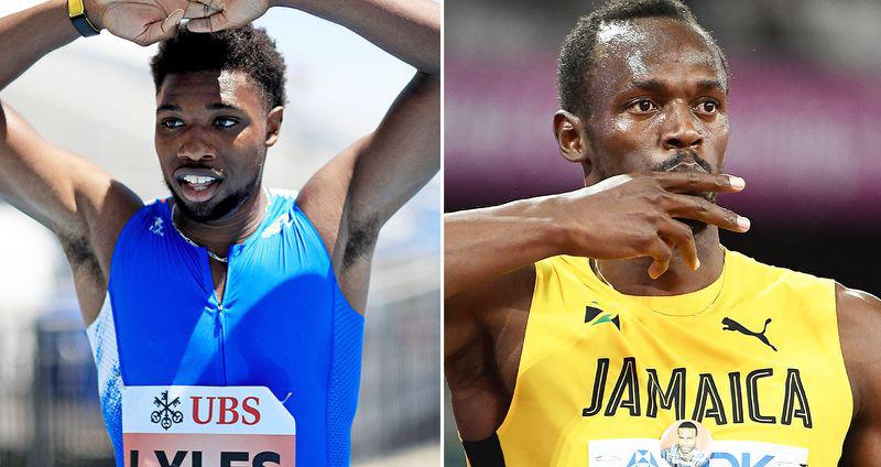 điền kinh, VĐV điền kinh, Usain Bolt, Noah Lyles, kỷ lục thế giới
