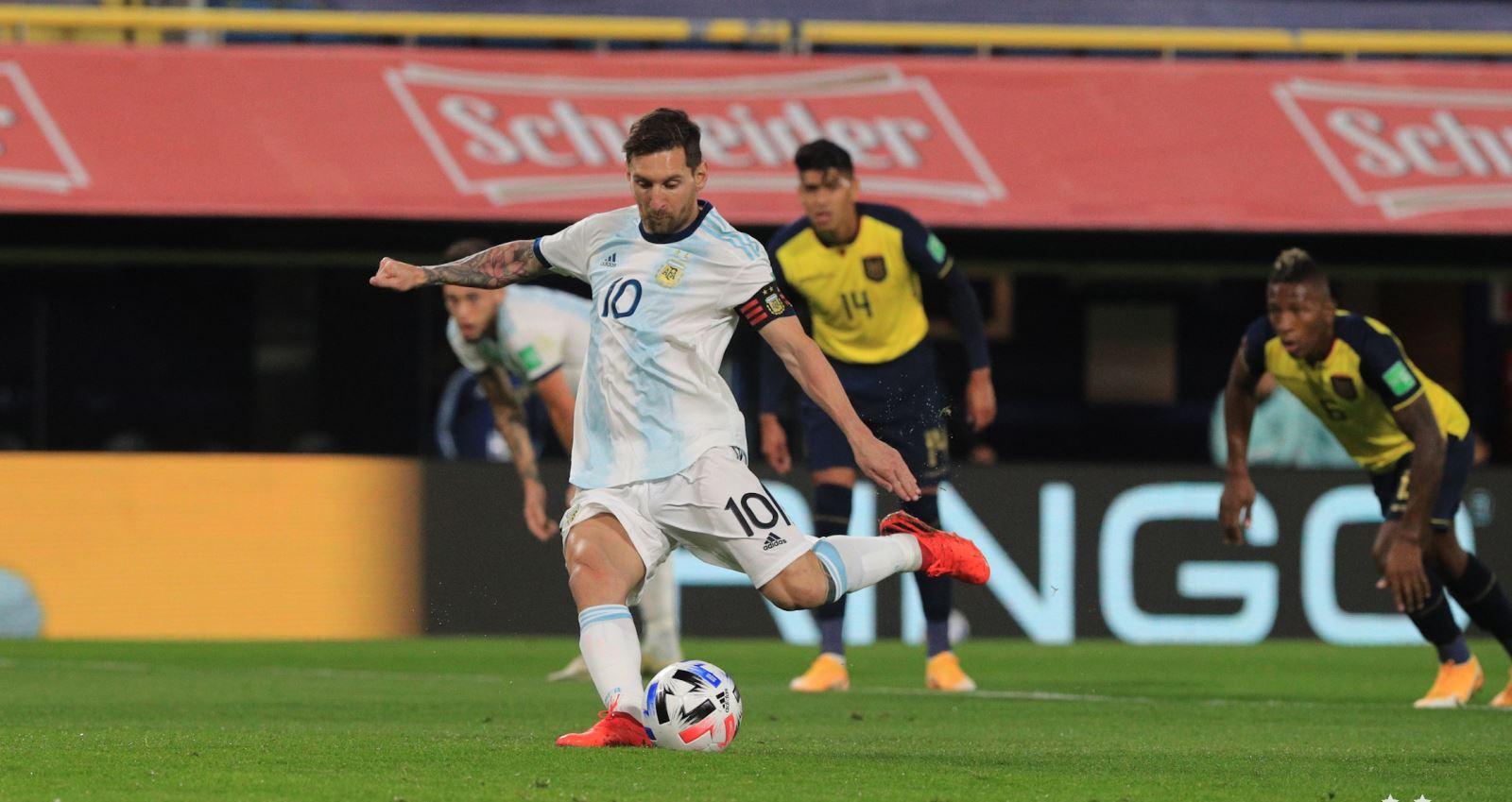 Argentina 1-0 Ecuador, kết quả bóng đá, Argentina, Messi, vòng loại World Cup, kết quả vòng loại World Cup khu vực Nam Mỹ, kết quả Arsenal đấu với ecuadorArgentina 1-0 Ecuador, kết quả bóng đá, Argentina, Messi, vòng loại World Cup, kết quả vòng loại World Cup khu vực Nam Mỹ, kết quả Arsenal đấu với ecuador