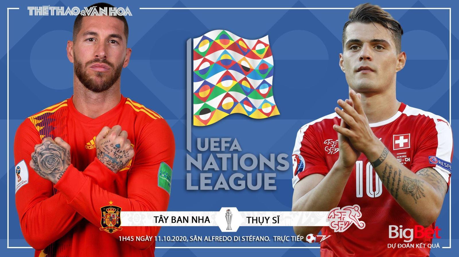 Soi kèo nhà cái Tây Ban Nha vsThụy Sĩ. UEFA Nations League. Trực tiếp K+PC, BĐTV