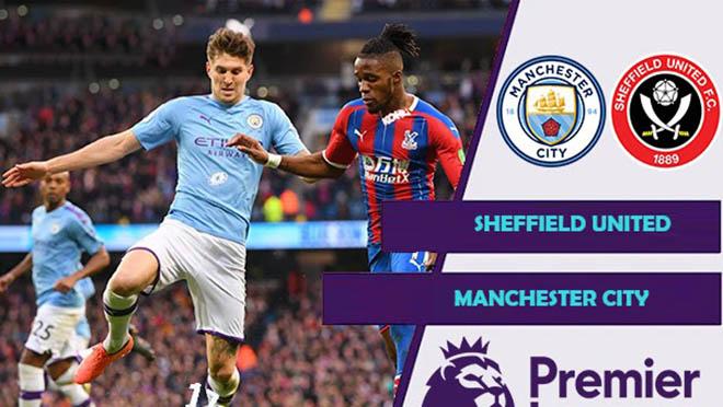 Trực tiếp bóng đá. Sheffield vs Man City. K+PM trực tiếp Ngoại hạng Anh
