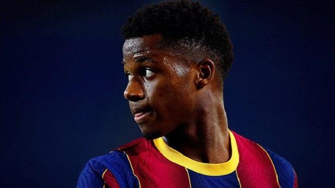 Barcelona muốn trói chân thần đồng Ansu Fati bằng bản hợp đồng mới