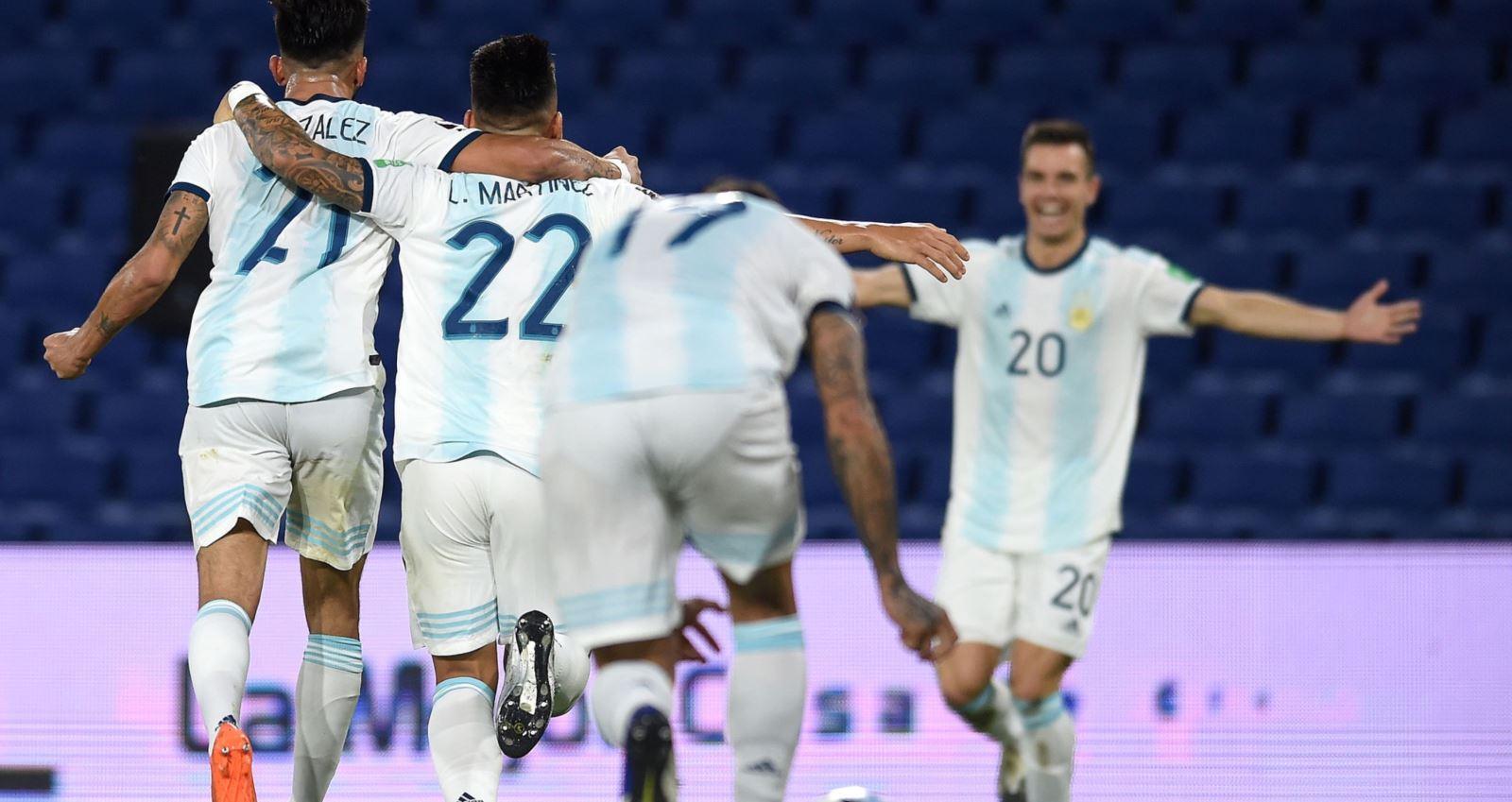 Argentina, Paraguay, vòng loại World Cup 2022, Nam Mỹ, Messi, Lautaro Martinez, bóng đá, bong da