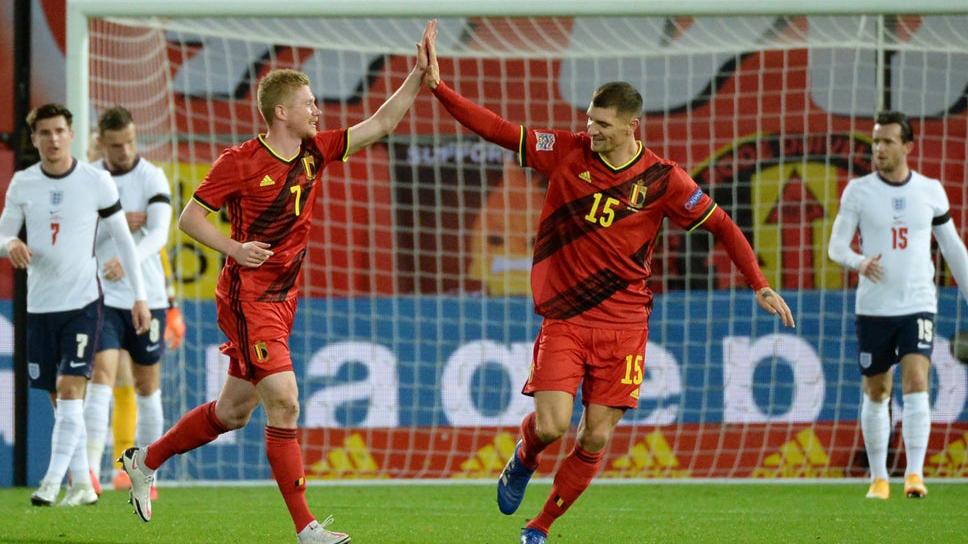 Bóng đá hôm nay 16/11: Bỉ hạ Anh. Italia thắng. Bruno Fernandes muốn giống Paul Scholes