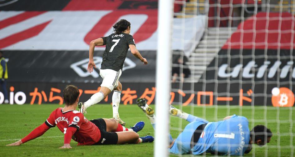 Southampton 2-3 MU, ket qua bong da, kết quả Southampton vs MU, kết quả MU, MU, Fernandes, Cavani, kết quả bóng đá Anh, BXH ngoại hạng Anh, trực tiếp bóng đá Anh