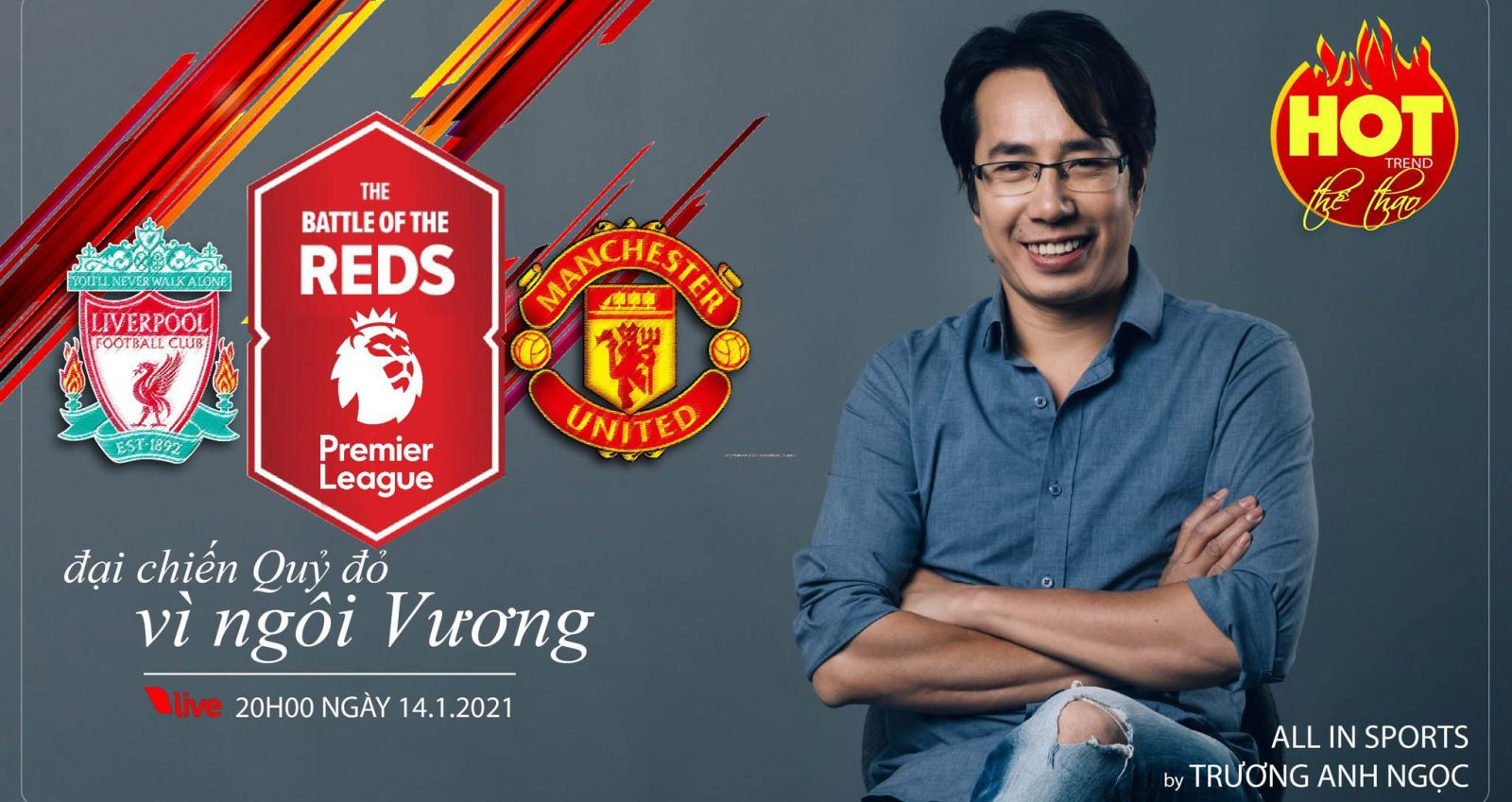 MU, liverpool, BLV Anh Ngọc, hot trend, liverpool vs mu, manchester united