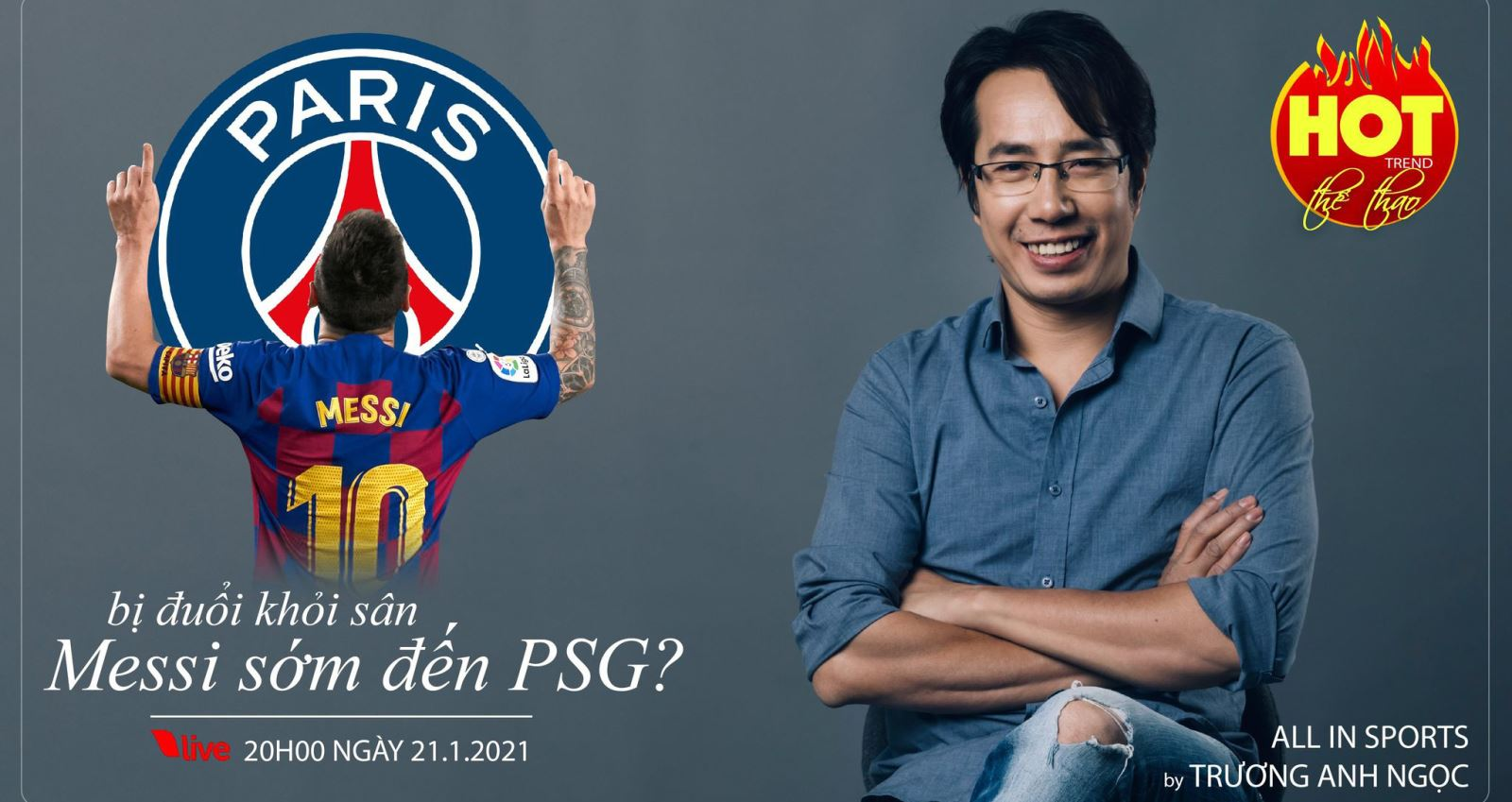 Messi, Lionel Messi, Trương Anh Ngọc, BLV Anh Ngọc, hot trend, Barcelona, Barca