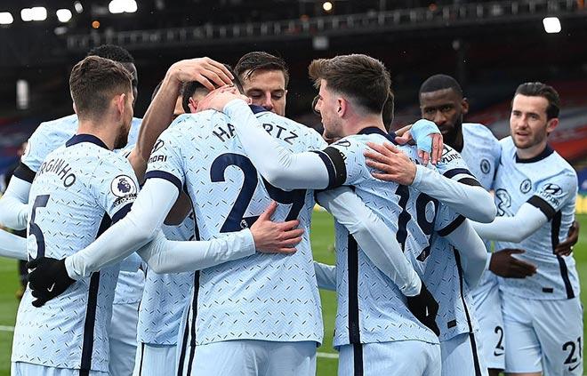 Chelsea, Crystal Palace, bóng đá, lịch thi đấy, kết quả, premier league, ngoại hạng anh, thomas tuchel