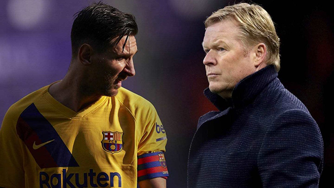 Koeman đáp trả Messi: Hi sinh cả Messi và Suarez vì Griezmann?