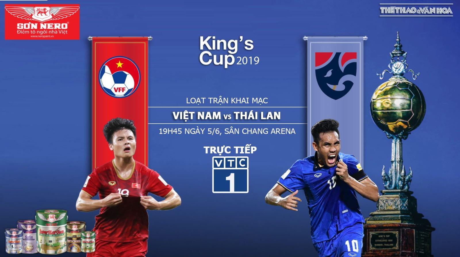VTV6, VTV5, VTC1, VTC3 trực tiếp bóng đá. Việt Nam vs Thái Lan. Việt Nam đấu với Thái Lan