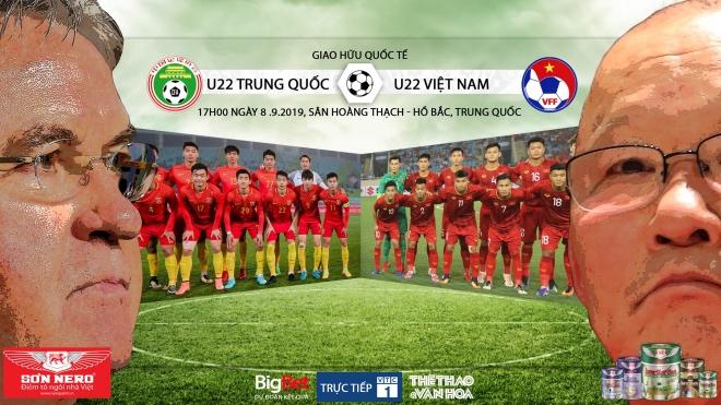 Lịch thi đấu và trực tiếp bóng đá: U22 Việt Nam vs U22 Trung Quốc (VTC1, VTV6, VTV5, VTC3)