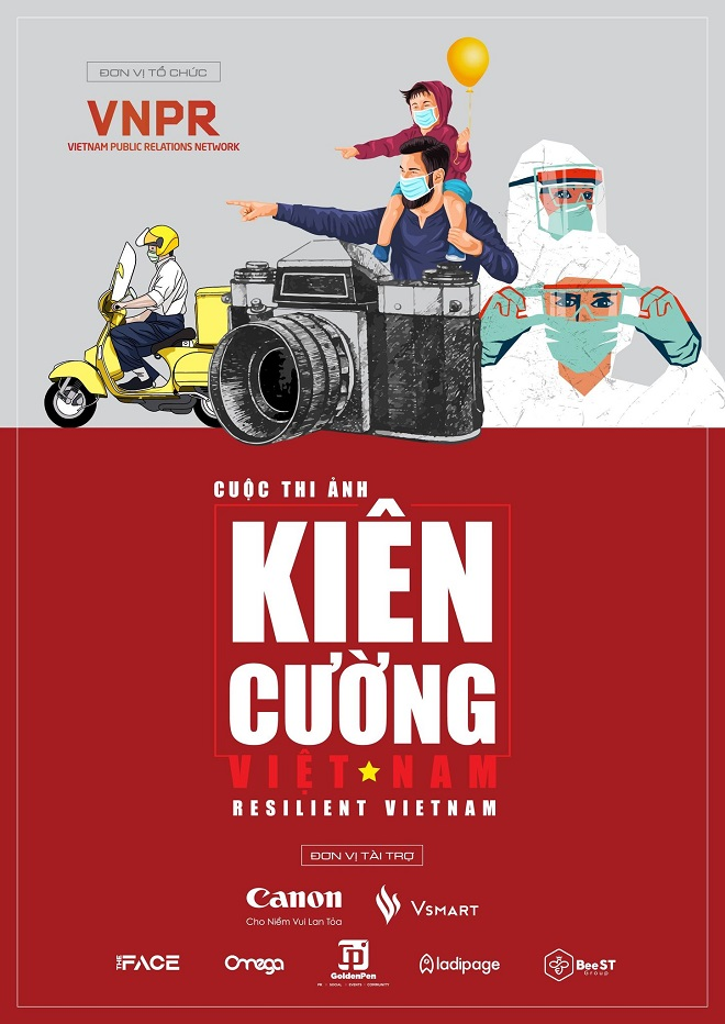 Cuộc thi ảnh, Kiên cường Việt Nam, Resilient Vietnam, Covid-19