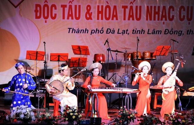 Hội Nhạc sỹ Việt Nam, Độc tấu và Hòa tấu nhạc cụ dân tộc, Việt Nam, nhạc cụ