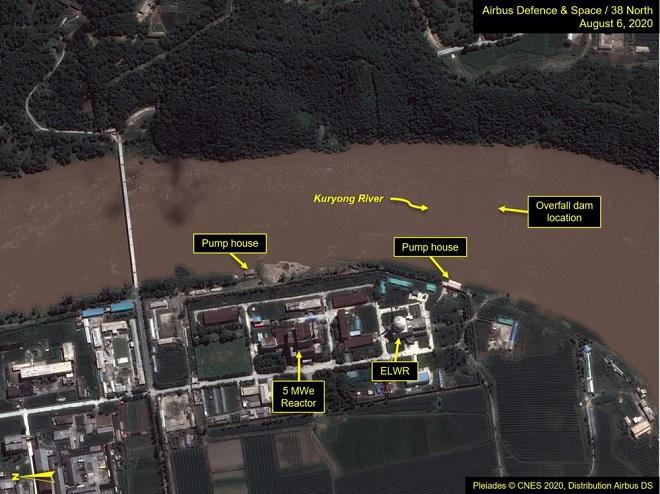Triều Tiên, vỡ đập, 38 North, khu liên hợp hạt nhân