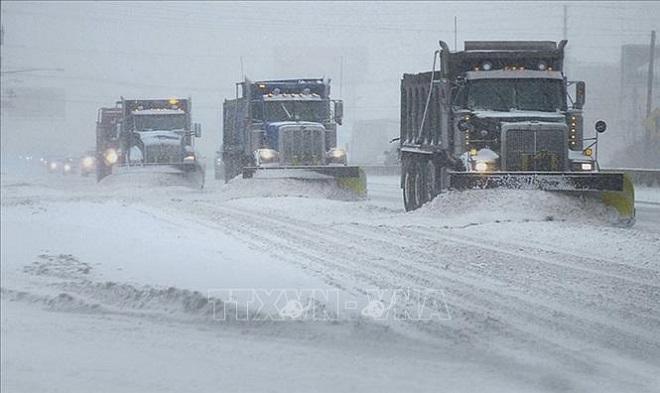 Mỹ, Hoa Kỳ, bão tuyết, 1 nghìn người mắc kẹt, Arizona, bão tuyết