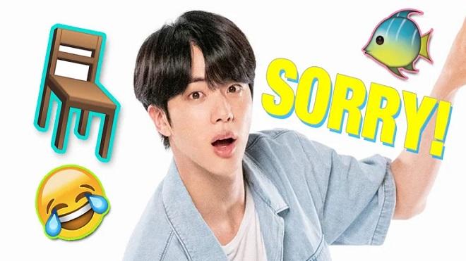 'Cười té ghế' vì Jin BTS 'nghiện' nói lời xin lỗi