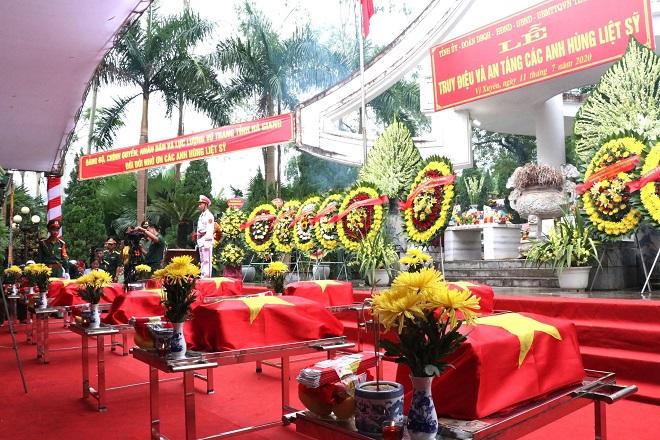 Truy điệu, An táng, Liệt sỹ, hài cốt liệt sỹ, Nghĩa trang Liệt sỹ Quốc gia Vị Xuyên
