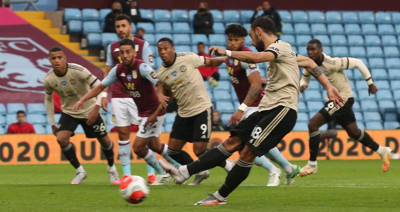 Ket qua bong da, Aston Villa 0-3 MU, Video clip bàn thắng Aston Villa 0-3 MU, Bảng xếp hạng bóng đá Anh, BXH ngoại hạng Anh, kết quả MU vs Aston Villa, Bruno Fernandes