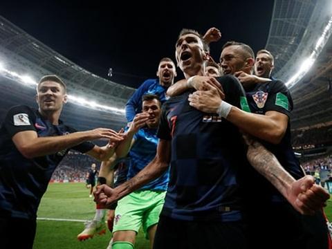 Video clip bàn thắng Croatia 2-1 Anh: Mandzukic đưa Croatia lần đầu vào chung kết World Cup