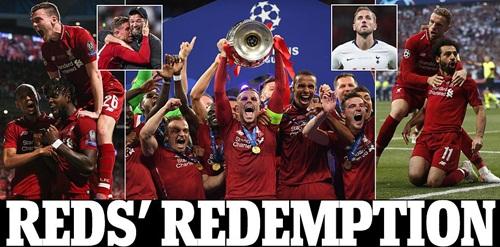 Liverpool vô địch cúp C1, Liverpool vô địch Champions League, Liverpool 2-0 Tottenham, video Liverpool 2-0 Tottenham, Mourinho, Wenger, Pochettino, Klopp, MU sao Ajax