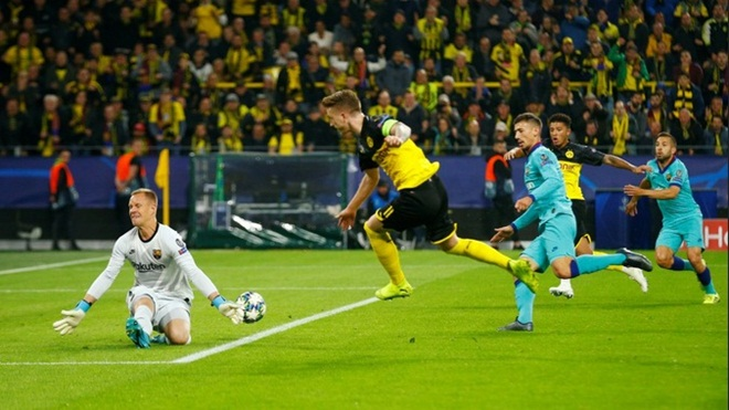 ket qua bong da, kết quả bóng đá, kết quả cúp C1, kết quả bóng đá C1, bong da, tin tuc bong da, kết quả Dortmund vs Barcelona Dortmund 0-0 Barcelona, Barcelona, Messi