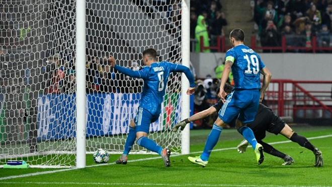 ket qua bong da hôm nay, kết quả bóng đá, ket qua bong da, kết quả Cúp C1, kết quả C1, Cúp C1, C1, Juventus, Lokomotiv 1-2 Juventus, Ronaldo, Ramsey, bong da hom nay