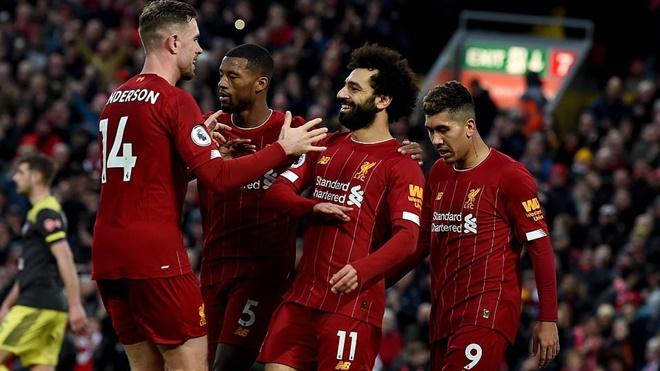 Ket qua bong da, Liverpool vs southampton, video Liverpool 4-0 Southampton, kết quả bóng đá, kết quả Ngoại hạng Anh, Bảng xếp hạng Ngoại hạng Anh, Salah, kqbd, bong da