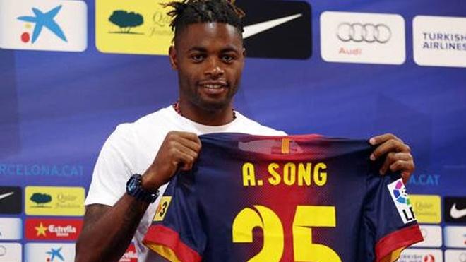Bong da, tin tuc bong da, Barca, Barcelona, chuyển nhượng bóng đá, Arsenal, chuyển nhượng Arsenal, chuyển nhượng Barca, Alex Song, bóng đá Anh, bóng đá Tây Ban Nha, TBN