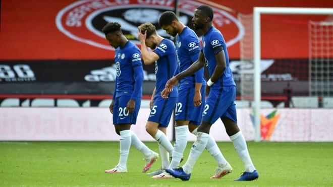 Ket qua bong da, kết quả bóng đá Anh, Sheffield vs Chelsea, Bảng xếp hạng bóng đá Anh, Cuộc đua top 4, hàng thủ Chelsea, Chelsea lỡ hẹn với Cúp C1, Cúp C1, Lampard, MU