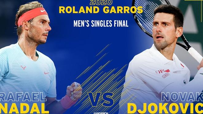 Chung kết Roland Garros 2020: Nadal vs Djokovic và cuộc chiến sinh tử