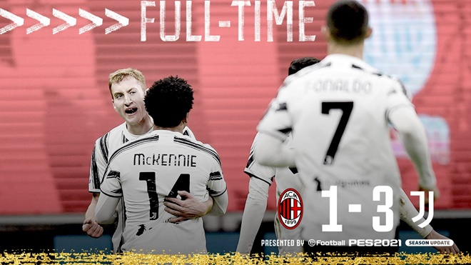 Ket qua bong da, Milan Juventus, Video Milan Juve, Kết quả Serie A, BXH Serie A, Kết quả Milan vs Juventus, kết quả Milan vs Juve. Kết quả bóng đá Ý, Chiesa, Milan, Juve