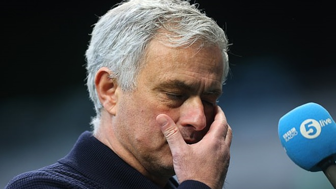 Tottenham thua ngược MU: Mourinho thực sự đã hết thời
