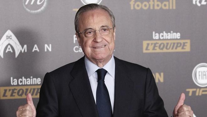 "Florentino Perez: ""Các đội dự Super League chắc chắn vẫn sẽ đá Champions League"""