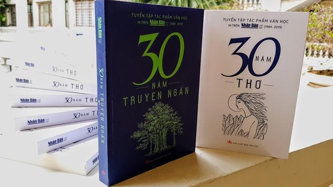 Ra mắt 2 tuyển tập văn học nhân 'sinh nhật tuổi 30' của báo Nhân Dân cuối tuần