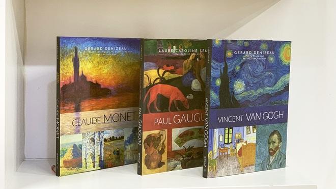 Ra mắt bộ sách về các danh họa Gauguin và Van Gogh
