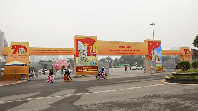 Hà Nội tạm cấm một số tuyến đường phục vụ Đại hội Đảng toàn quốc lần thứ XIII
