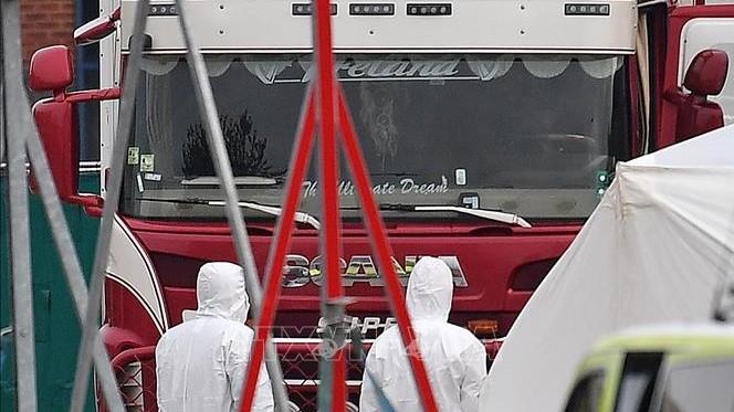 Thông tin mới nhất liên quan vụ 39 người chết trong xe container ở Anh