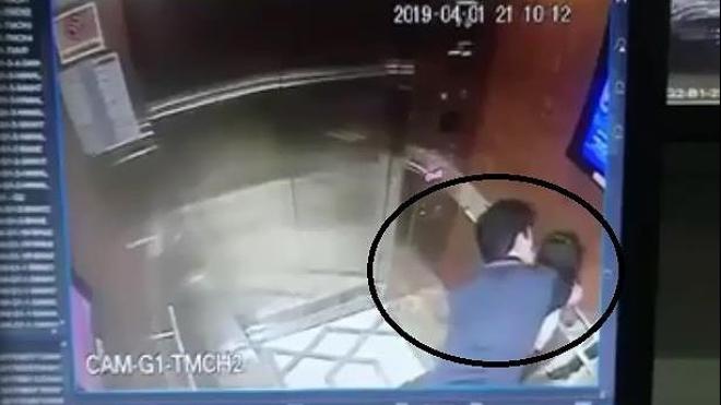 Đã xác định được danh tính kẻ sàm sỡ bé gái trong thang máy chung cư