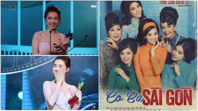 Cánh diều 2017: Cô Ba Sài Gòn đoạt Cánh diều vàng; Nhã Phương nghẹn ngào khóc khi nhận giải