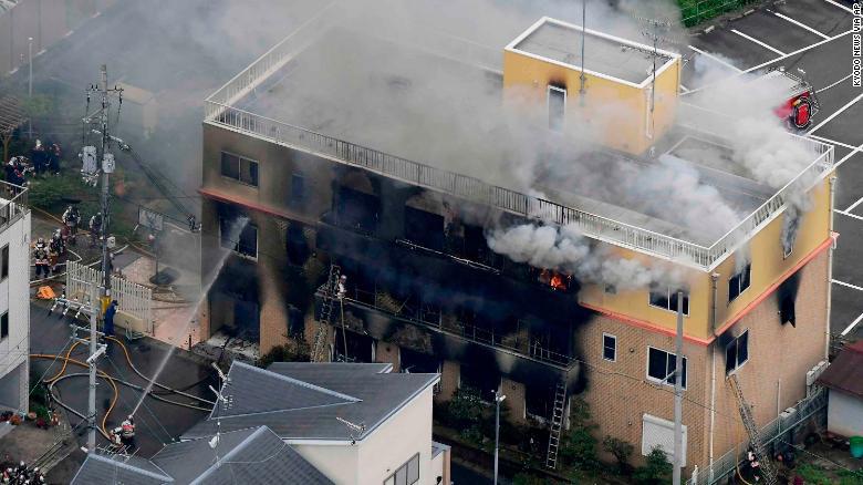 Vụ cháy xưởng phim ở Nhật Bản khiến 34 người chết: Cảnh sát khám xét nhà nghi phạm
