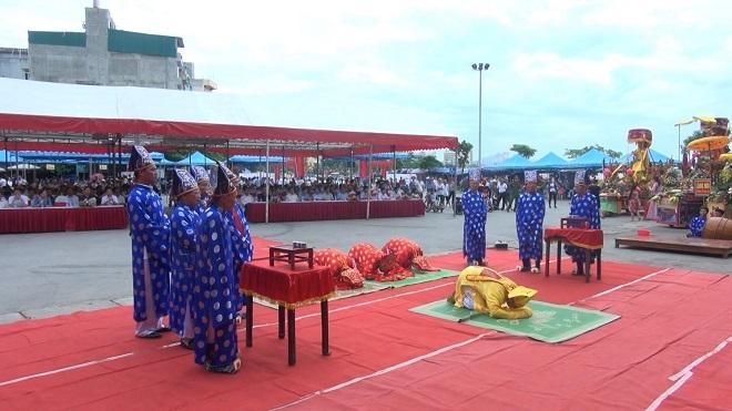 Thanh Hóa: Đặc sắc Lễ hội bánh chưng, bánh giày truyền thống tại đền Độc Cước